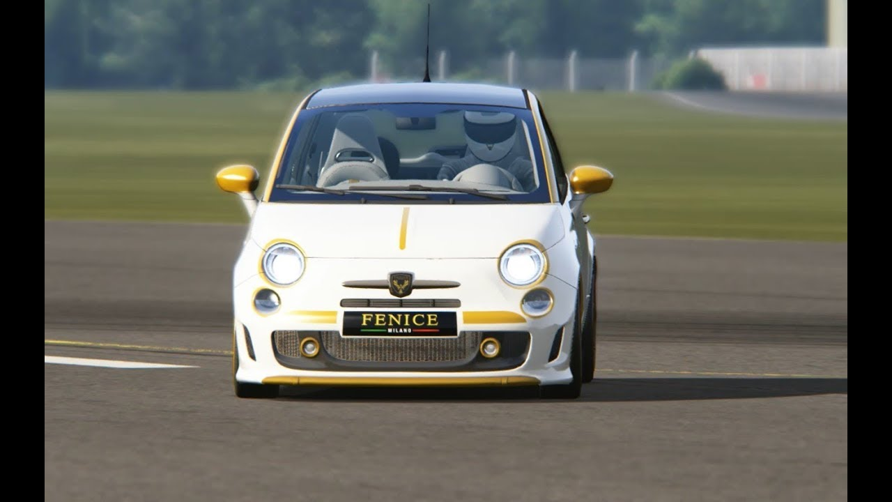 abarth 500 ss at top gear testing - youtube