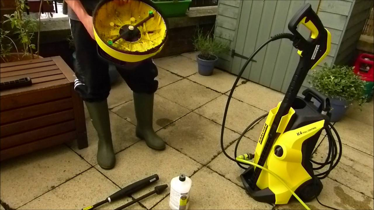karcher k4 full control pressure washer review youtube