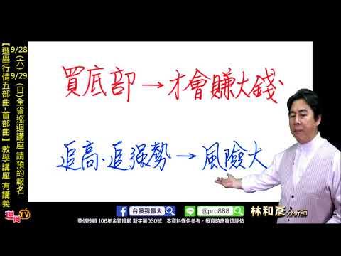 理周TV-20190918 盤後 林和彥 股市戰將/外資拉高結算 台股全球最強 外資大買974億 迎接美國降息?