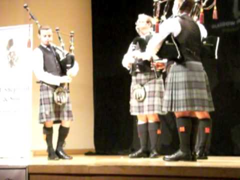 Scottish Power, Winner of the International Quartet Competition, Piping Live 2009. .