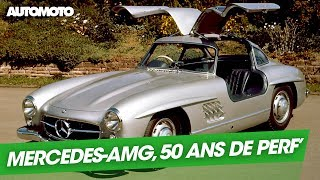 Mercedes-AMG : 50 ans de performances