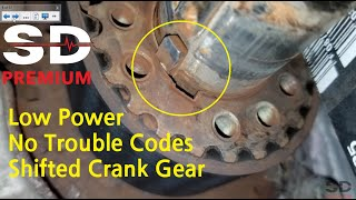 Identifying a Shifted Crankshaft Timing Gear (Picoscope and PSI Transducer)