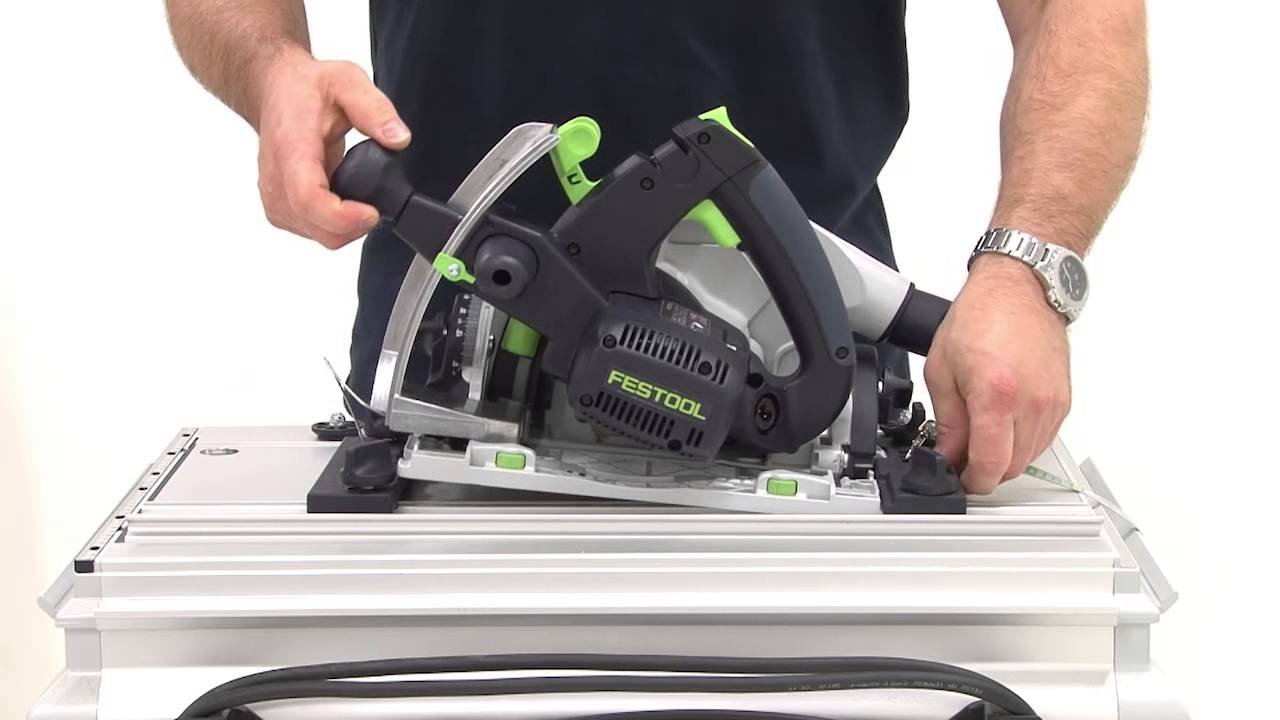 Festool Tv 30 Circular Saw Ts 55 R Installing Cms Youtube