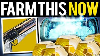 FARM THIS NOW! YOU HAVE 1 WEEK UNLIMITED EXOTICS! - Destiny 2