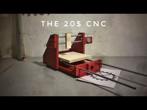 ZepLabs: The 20 Dollar CNC (Part 1)