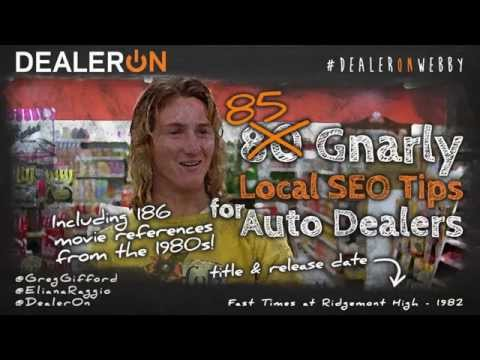 80 Gnarly Local SEO Tips for Auto Dealers