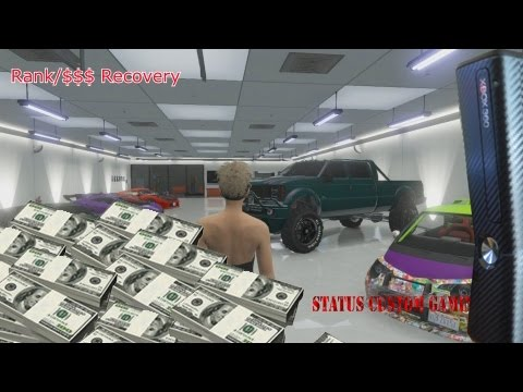 Status Custom Gaming Grand Theft Auto Account Recovery 2