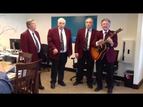 Eugene Quartet Sings I Saw Her Standing There