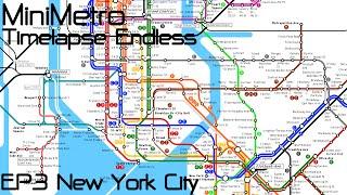 MiniMetro : Timelapse Endless - [EP3] New York City