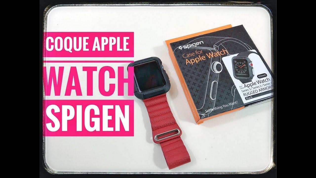 0b4b46cf65b38 Test Coque Apple Watch Spigen - YouTube