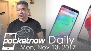 OnePlus 5T leaked on video, iPhone X Face ID fooled & more   Pocketnow Daily