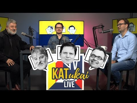 KATukai live: Katkevičius, Katkus ir Katauskas || Finišui artėjant || Laisvės TV