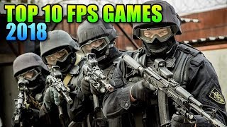 Top 10 FPS Games In 2018