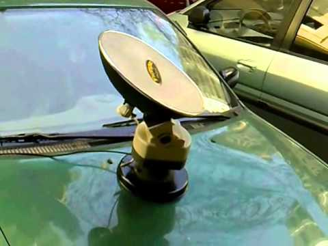 Manual Tracking Mobile Satellite Antenna For Your Car
