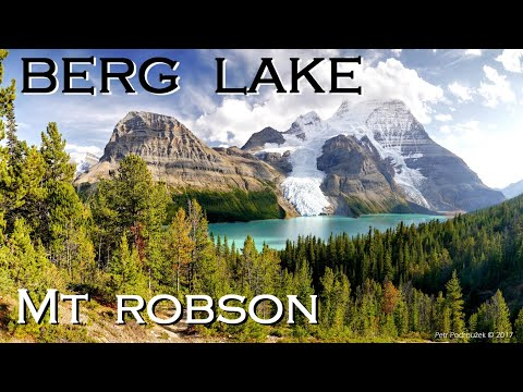 Berg Lake Trail. British Columbia, Canada 2017