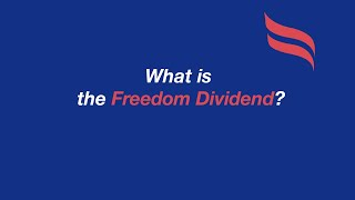 #Yang2020 Q&A | What is the Freedom Dividend?