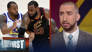 Nick Wright thinks a lot has to go right for the Cavaliers to beat the Warriors | FIRST THINGS FIRST