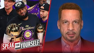 LeBron winning his 4th title keeps him in GOAT debate with MJ - Broussard | NBA | SPEAK FOR YOURSELF