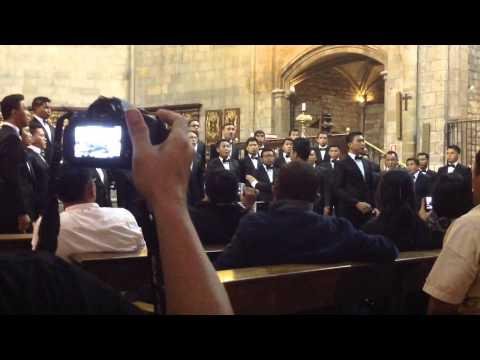 canta al mar 2014 - North Sulawesi GMIM Male Choir (NSGMC) - Nearer My God To Thee