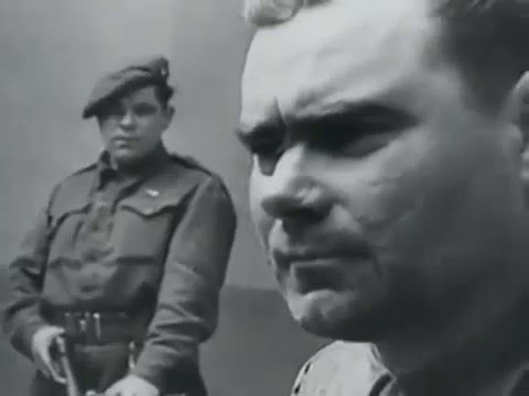 Nuremberg Trials Execution Footage