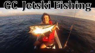Auckland West Coast Jetski Fishing New Zealand Gopro