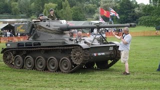 Riding A French AMX-13 Tank