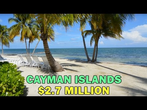 Cayman Island Beachfront Home for sale