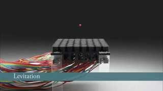 Acoustic Holograms that Levitate Particles