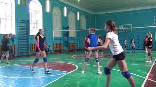 Игровая тренировка по волейболу среди девочек 2003-2005г.г.р