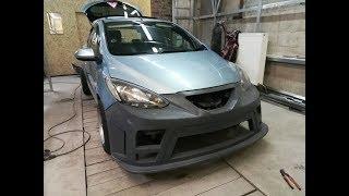 ОБВЕС Mazda Demio (часть 1) подготовка...