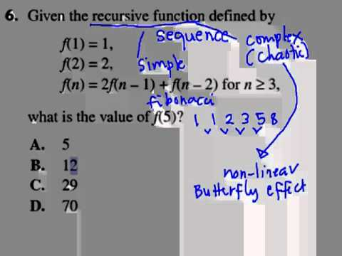 how to solve recursive functions