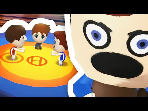 CRAIG'S DEBUT WRESTLING MATCH!! | Tomodachi Life #8
