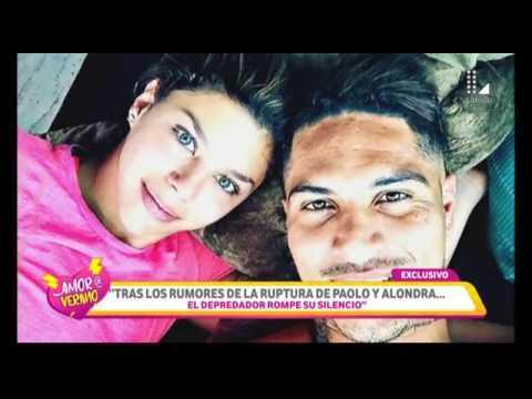 Paolo Guerrero rompe su silencio y dice esto de su relación con Alondra