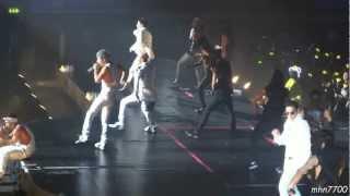 [HD fancam] 121214 Big Bang/GD - greeting + Fantastic Baby @ Wembley Arena, London