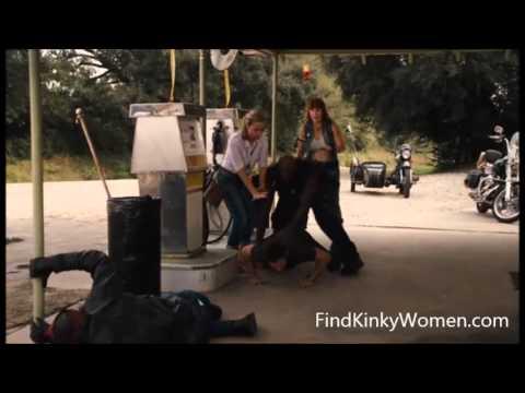 Knucklehead 2010 M/m ballbusting scene with bikers