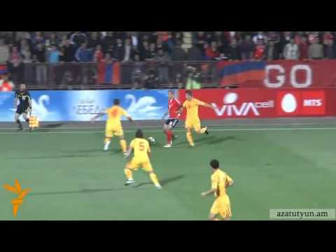 Hayastan 4 - 1 Makedonia Bolor Golery  EURO 2012 Qualifiers