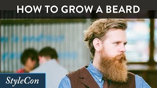 How To Grow A Beard - Beard Growing Tips from Beardbrand's Eric Bandholz