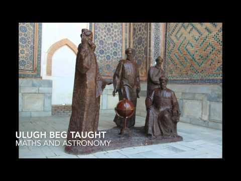 Samarkand Registan Royal tombs and Bibi Mosque