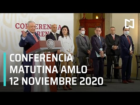 Conferencia matutina AMLO / 12 de noviembre 2020