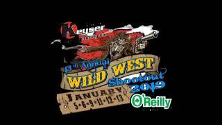 Late Model Dash / Wild West Shootout At Arizona Speedway Jan 13th 2019