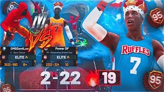 I TOOK MY STRETCH CLEANER TO 1V1 COURT & THIS HAPPENED... BEST BUILD IN NBA 2K19 PARK? MUST WATCH!