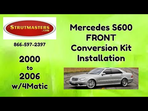 How To Fix The Front Suspension On A Mercedes S500 4Matic