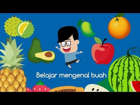 Mengenal Buah-buahan dalam Bahasa Indonesia dan Inggris | Eza dan Adi