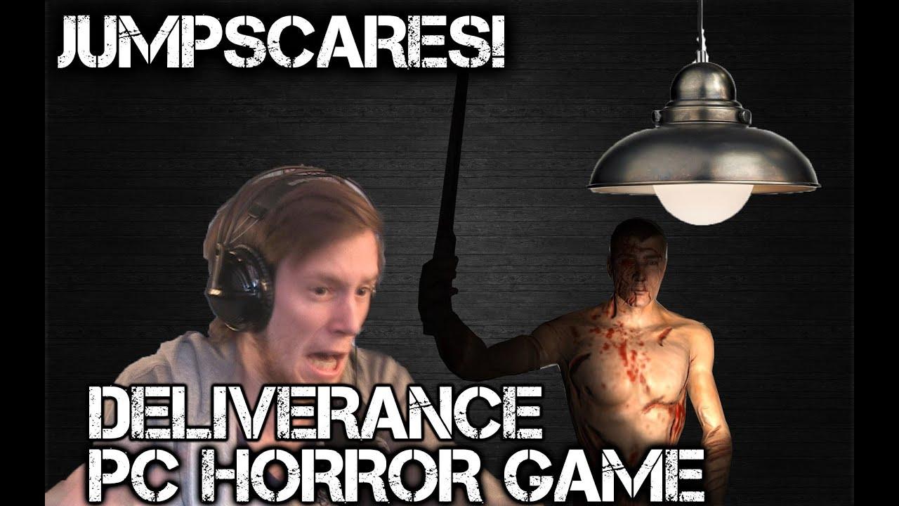 Jumpscares Deliverance Pc Horror Game Youtube