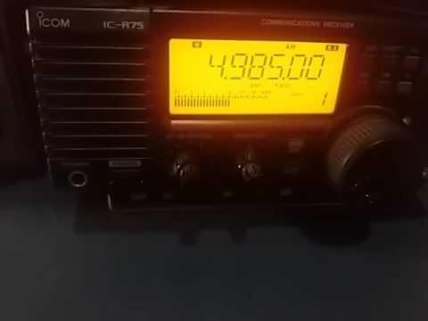 Radio Brasil Central, Goiania GO BRAZIL - 4985 kHz