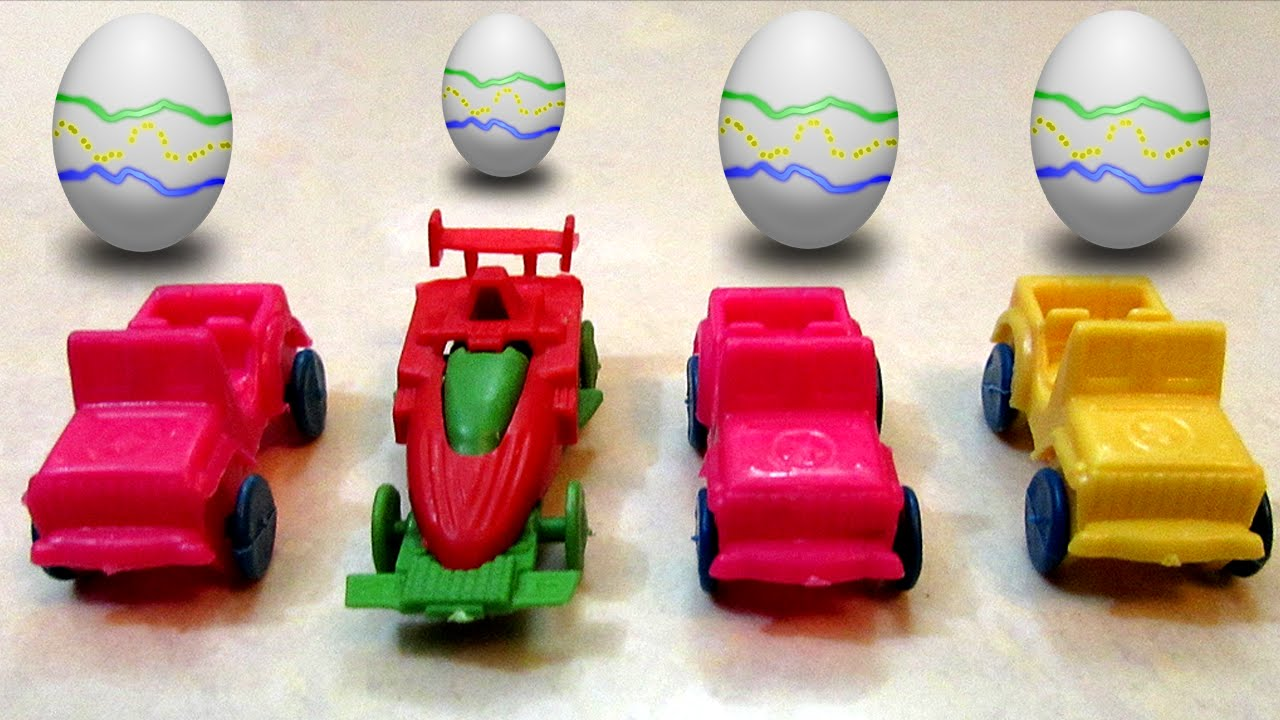 surprise eggs toys for children kids candies small cars sticker tattoos playtime youtube