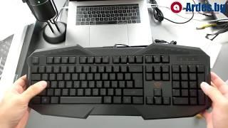 Геймърска Клавиатура - TRUST GXT 830 - Ънбоксинг и Ревю