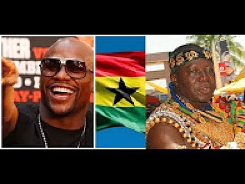 FLOYD MAYWEATHER TOUR TO GHANA , MANHYIA PALACE IN KUMASI  CONFIRM