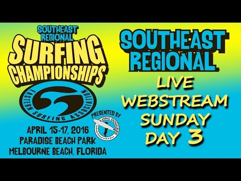 South East Regional Sunday April 17, 2016 - Day 3