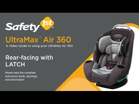 UltraMax Air 360 Rear Facing With LATCH Installation Video Safety 1st Baby Products